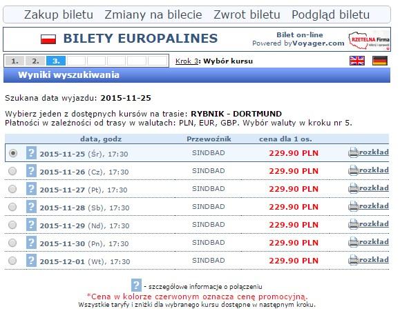 Bilety autokarowe Dortmund