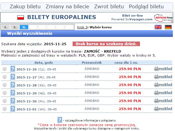 Bilety autokarowe Krefeld